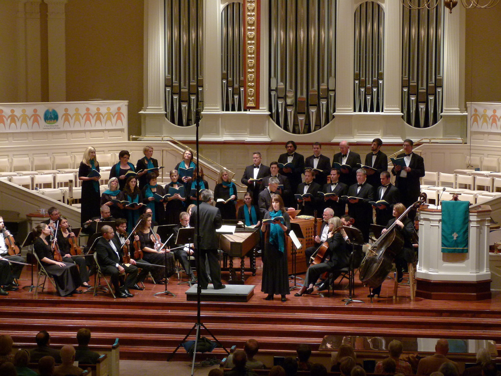 Bach  Magnificat  with Ars Lyrica and Orpheus Chamber Singers.
