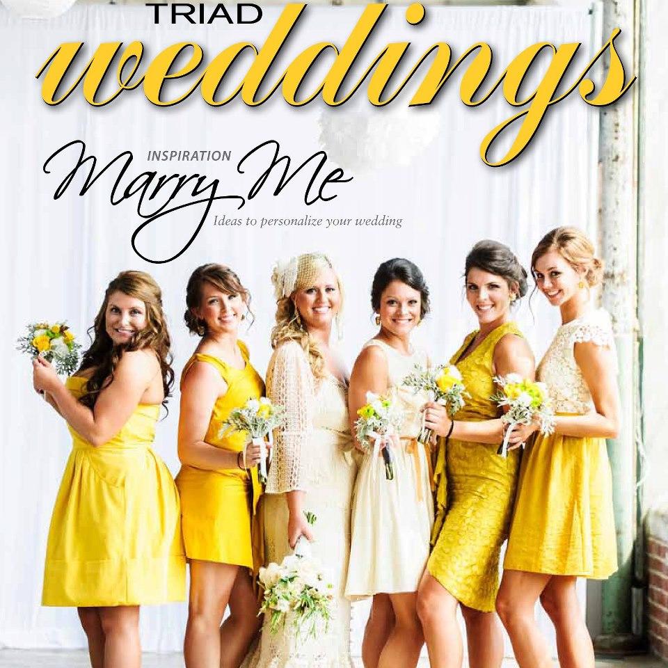 TriadWeddings  , the Triad Area's #1 Wedding Magazine & Planning Guide!