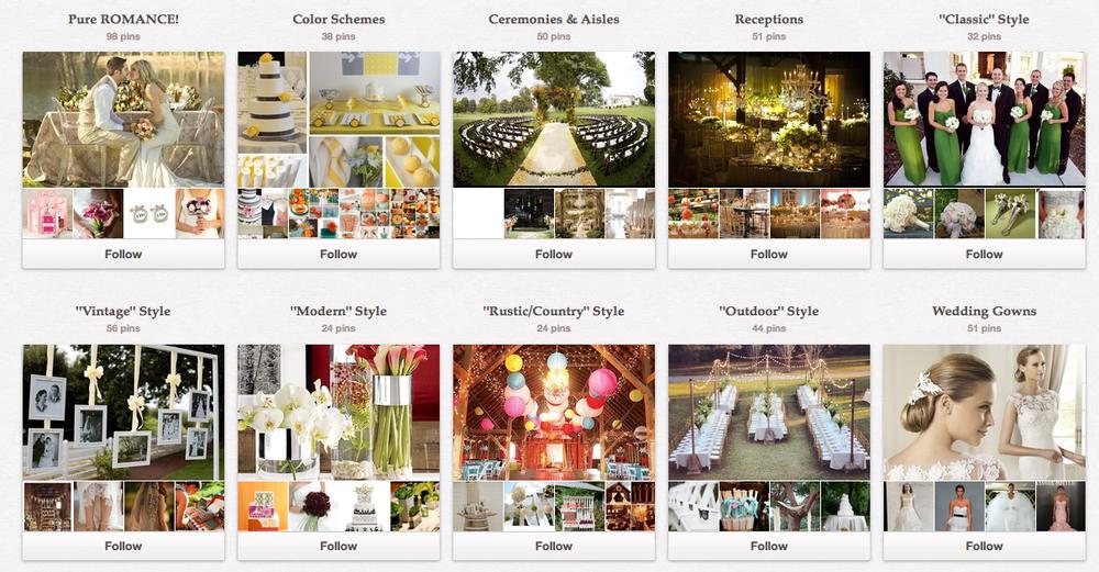 TriadWeddings Magazine on Pinterest! Follow our boards for wedding inspiration for your North Carolina Triad wedding.