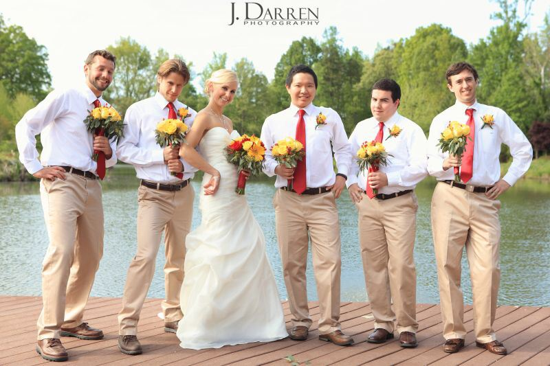 Stacey and Stephen's wedding at The Arbors Events in Cleveland, NC. Image by © J. Darren Photography