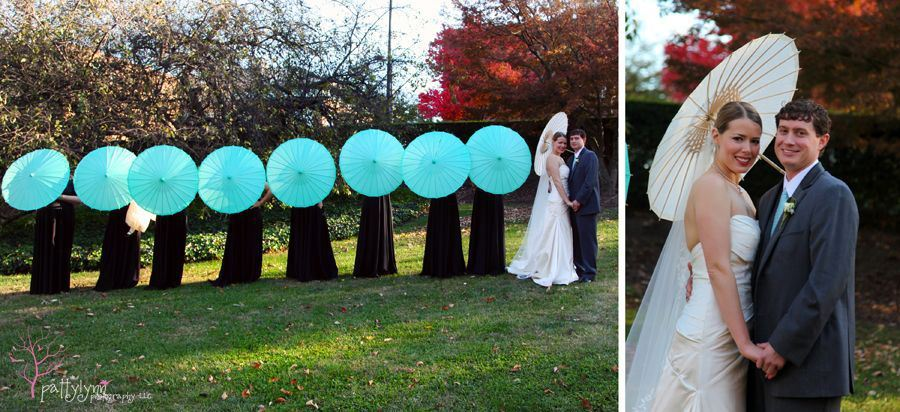 Lauren and Daniel's whimsical love bird wedding at the UNCG Alumni House. Images by Pattylynn Photography.