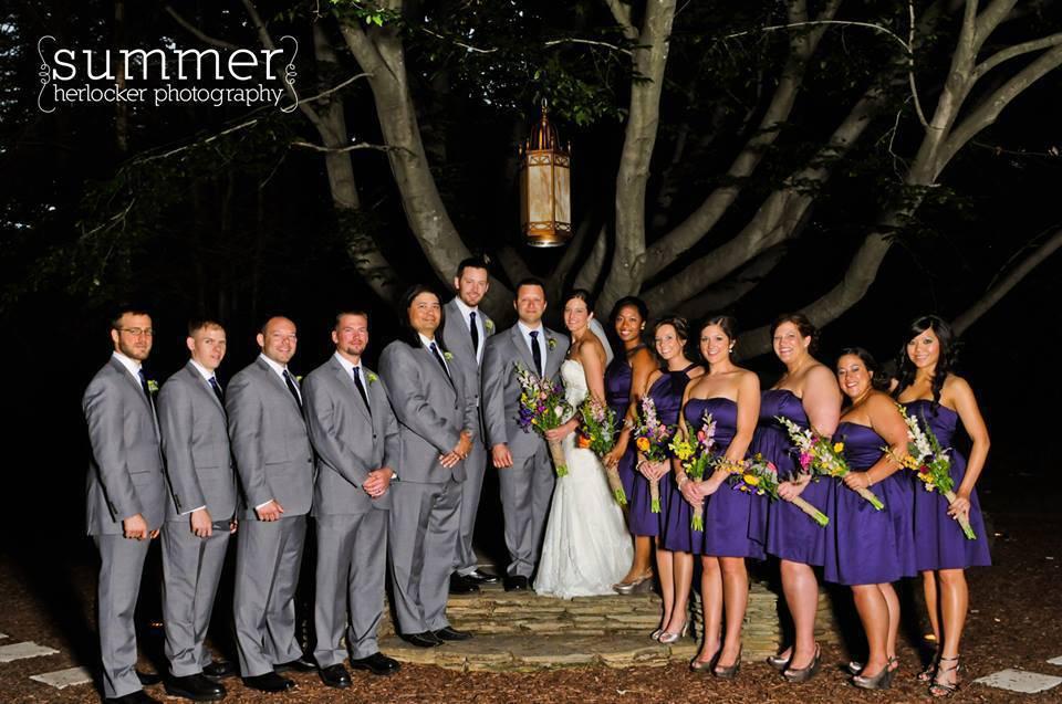 Kate and Matthew's Magnolia Manor wedding in Colfax, North Carolina.