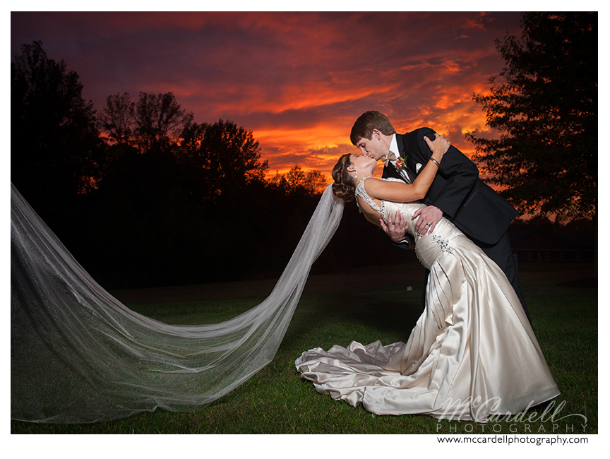 Julie and Nick at their Starmount Country Club wedding in Greensboro, North Carolina. Images courtesy of McCardell Photography, a Greensboro, North Carolina Wedding Photographer.