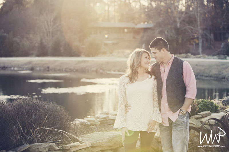A Greensboro, North Carolina engagement session by White Wall Photos, a  TriadWeddings  wedding photographer.