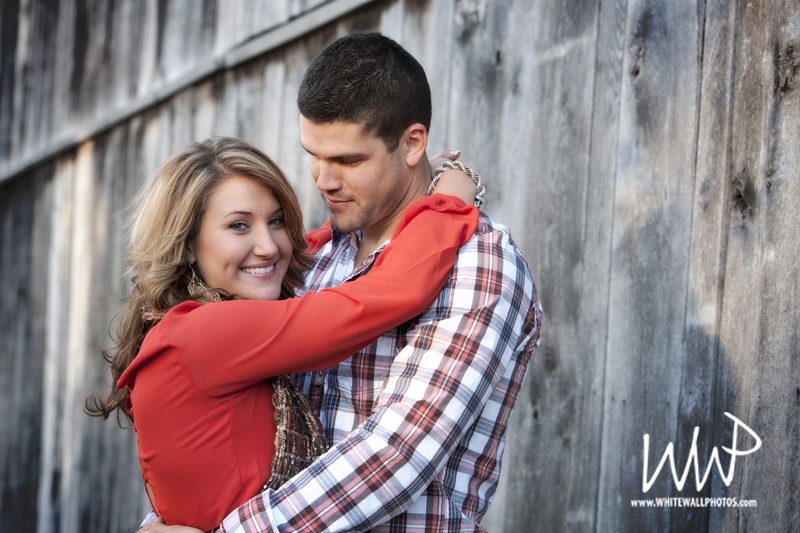 An engagement session in Greensboro, North Carolina by White Wall Photos, a  TriadWeddings  wedding photographer.