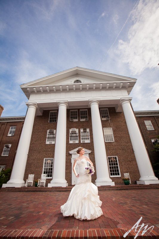 Greensboro College bridal session by Aura Marzouk Photography, a TriadWeddings photography vendor. rG