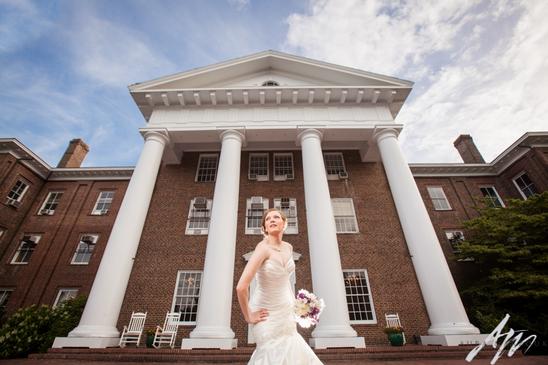 Greensboro College bridal session by Aura Marzouk Photography, a Greensboro, NC Wedding Photographer and a TriadWeddings photography vendor.