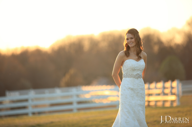Adaumont Farm bridal session with J. Darren Photography, a Greensboro wedding photographer and a TriadWeddings vendor.