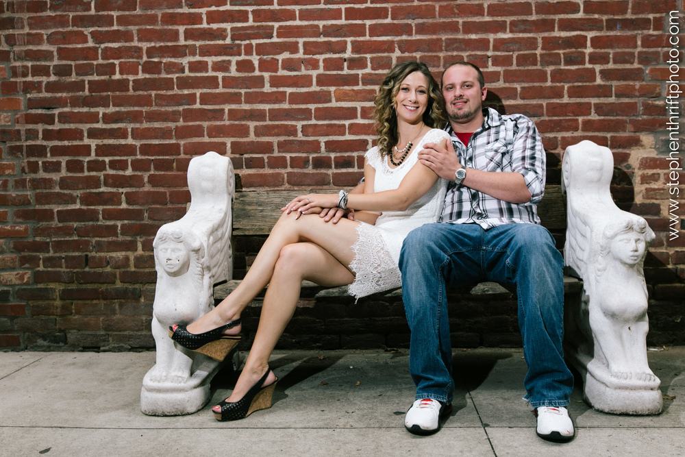 TriadWeddings Blog features a Greensboro engagement session by Stephen Thrift Photography.