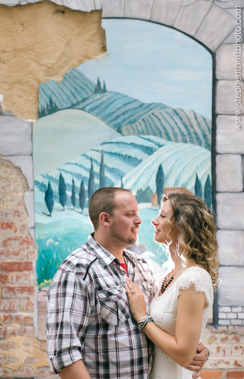 Wedding photographer, Stephen Thrift captures Whiney and Jason in Greensboro, North Carolina.