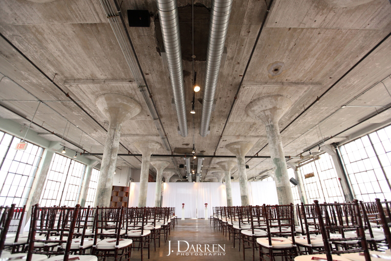 Urban loft wedding venue in High Point, NC, Lofts at Union Square. Triad Weddings vendor