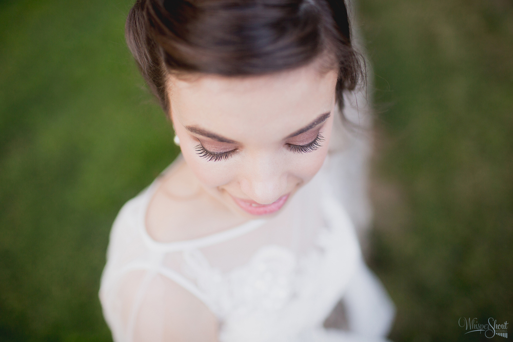 professional makeup ideal for north carolina bridal session; WhisperShout Weddings.