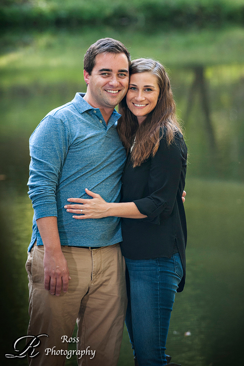 Lakeside Greensboro engagement photography; Robert Ross Photography.