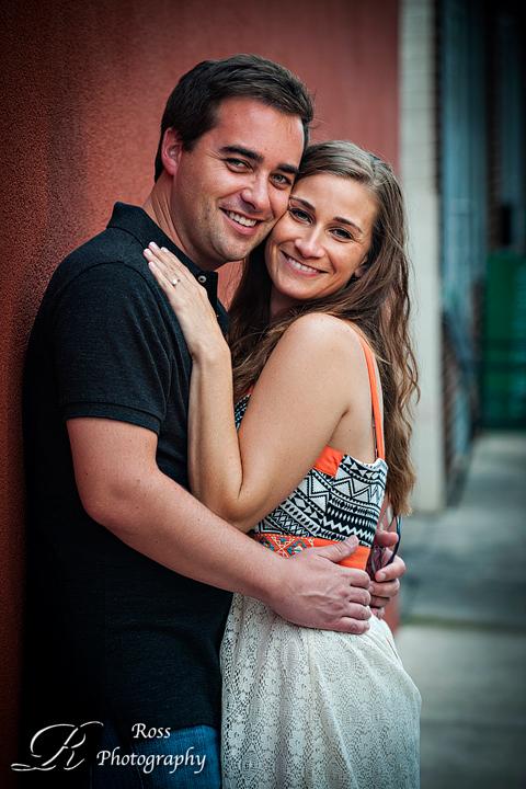 cheek to cheek posing;greensboro engagement session;robert ross photography.