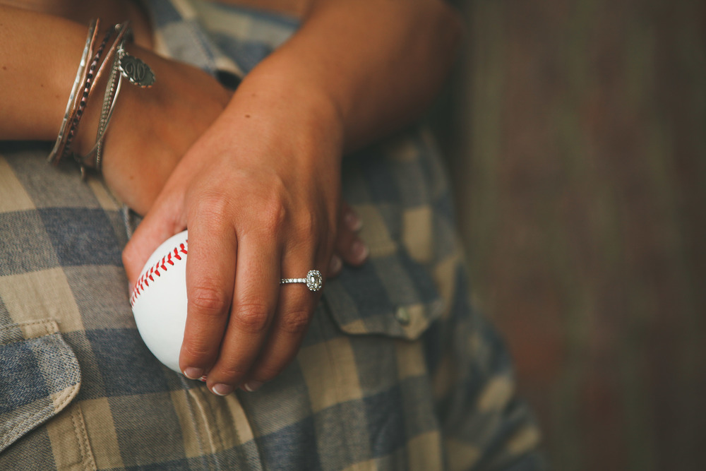 A Nearly-Wed proposal story. Engagement images by Amanda Sutton Photography