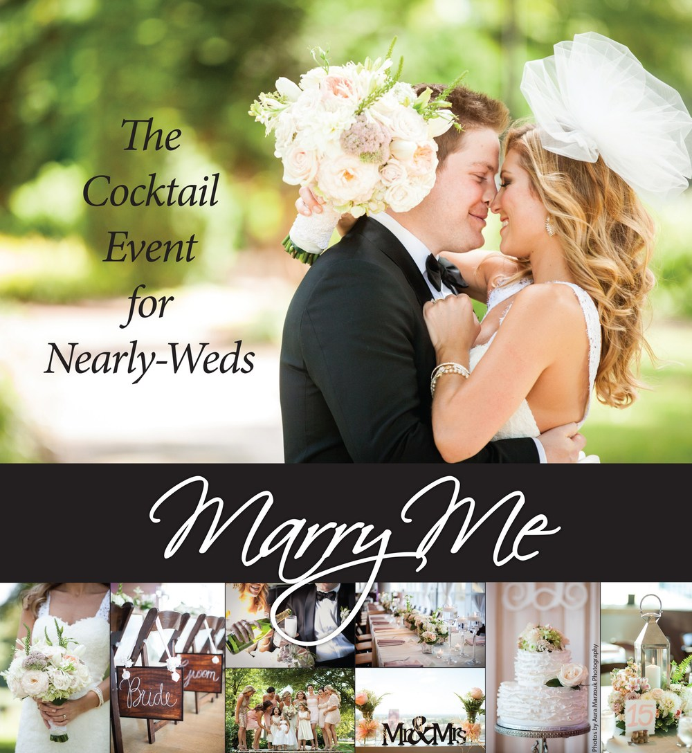 Marry Me by TriadWeddings Magazine - the Cocktail Event for Nearly-Weds