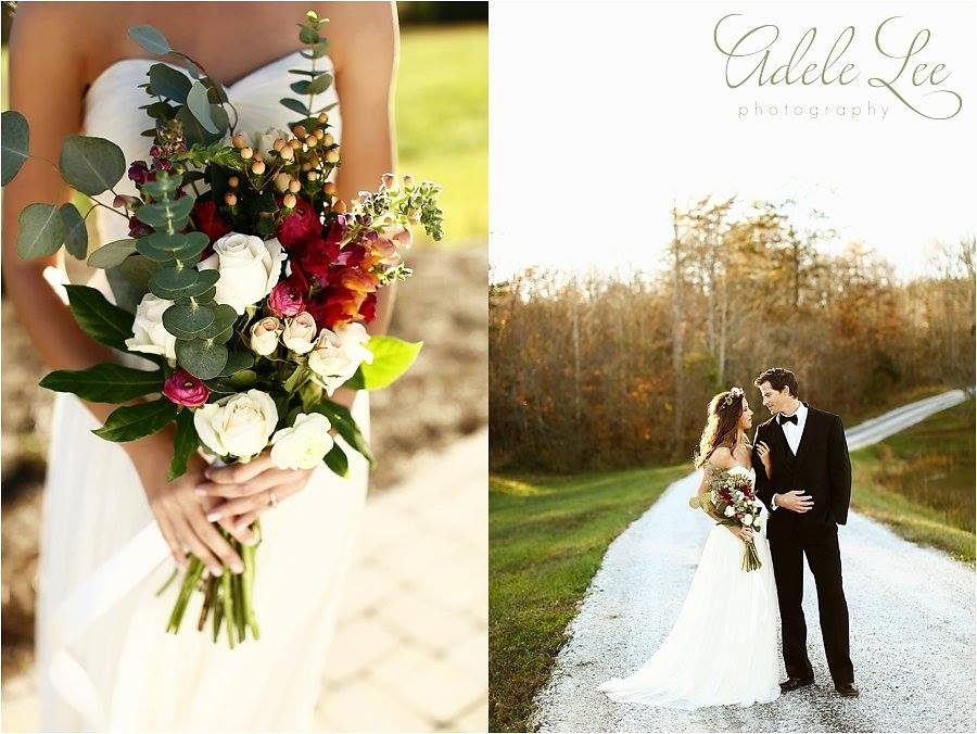 Taylored Blooms  ~ photos by Adele Lee Photography