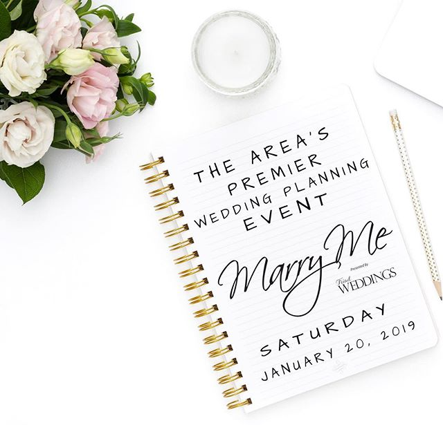 LAST CALL for discounted tickets to Marry Me, the Wedding Planning Event you don't want to miss! You're going to LOVE what our exhibitors have done to WOW you!  Use promo code mm50 for half off. They'll be full price at the door. See you tomorrow!! #WeddingShow #BridalShow #WeddingPlanning #WinstonSalemWedding #SouthernWeddings #GreensboroWedding #HighPointWedding #NCWedding