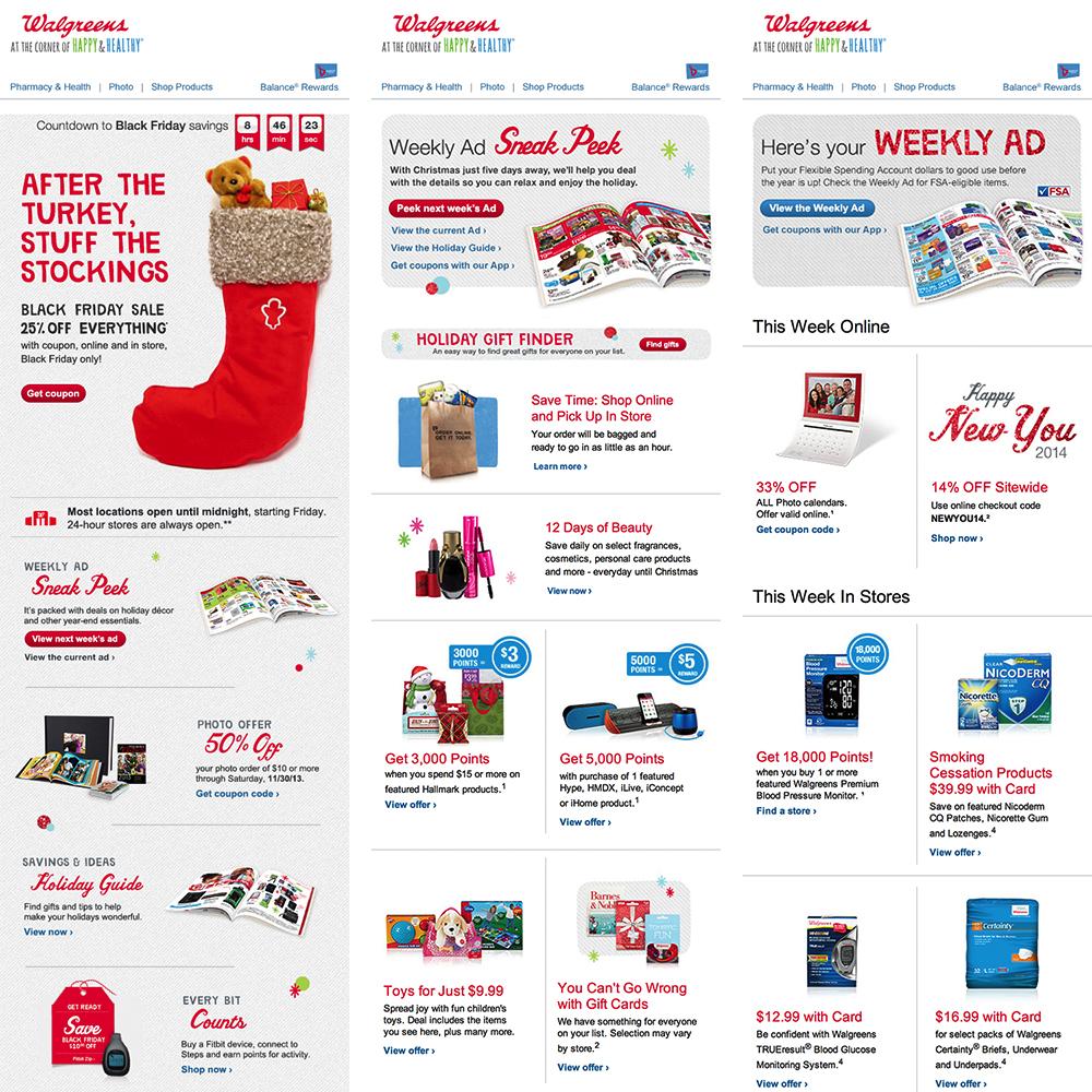 Walgreens DWaR Email Communications — En-Cg