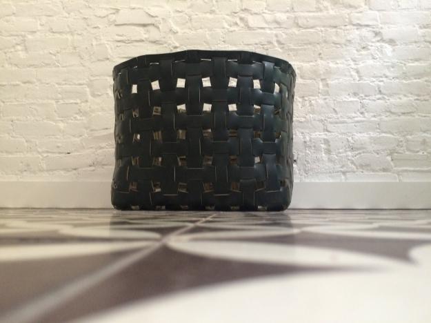 Custom Leather Baskets