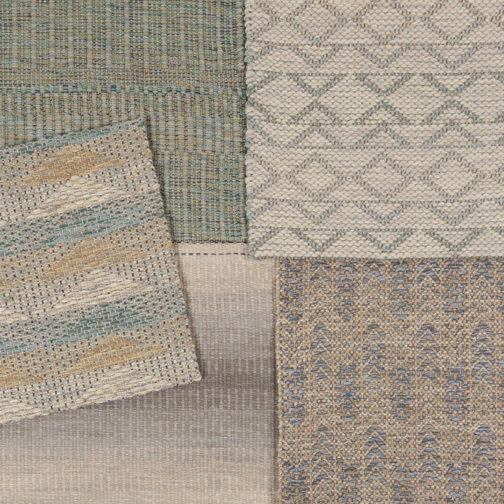 True North rug samples