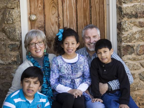 Left to right: Teddy, Joy, Carla, Tony, and Matthew