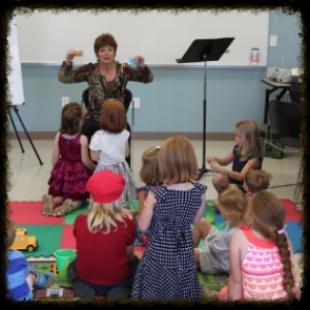 Lori teaching