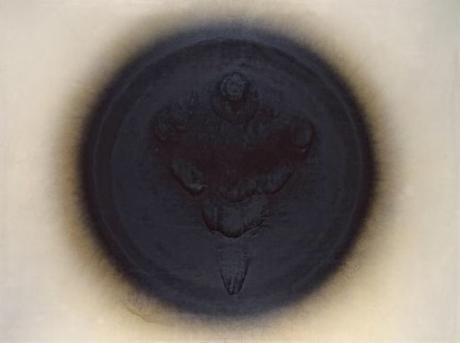 Otto Piene, Venus of Willendorf, 1963