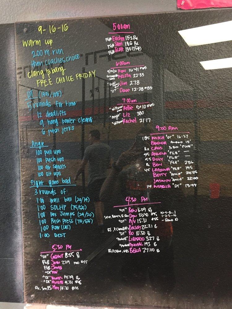 9 16 16 — CrossFit Montrose