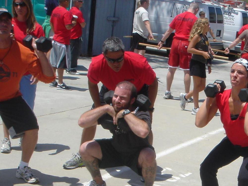 CrossFit Trainer Certification (via Wikimedia)