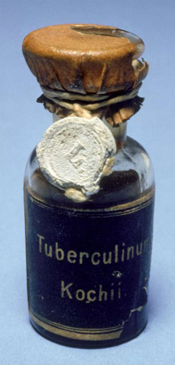 a vial of Koch's remedy
