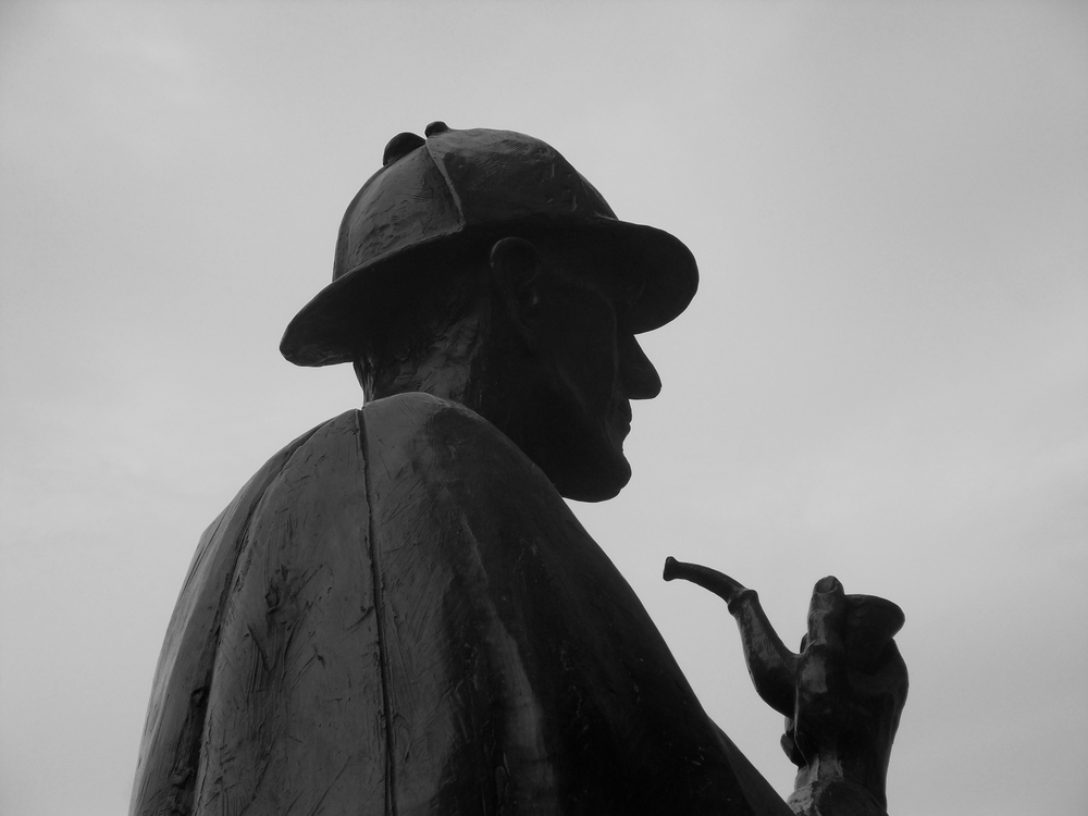 """Sherlock Holmes Statue"" by Julian  is licensed under  CC BY-ND 2.0"