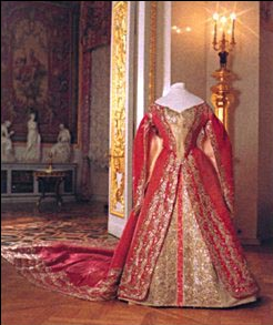 A Semi-official Court Gown of Alexandra Feodrovna, circa 1890's