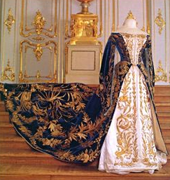 Court Gown of Grand Duchess Xenia Alexandrovna, 1894