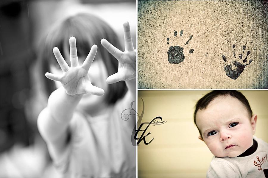 Hand Prints - Boise Family Photographer
