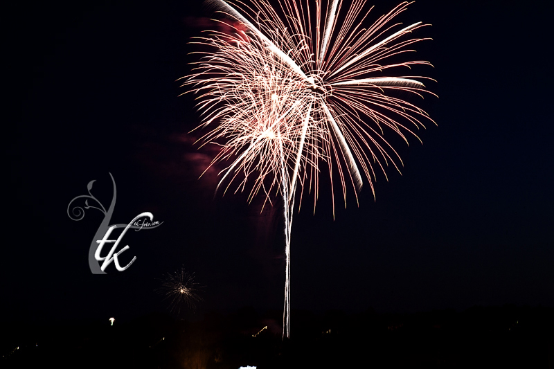 Boise Fireworks Display in Anne Morrison Park - Boise Photography