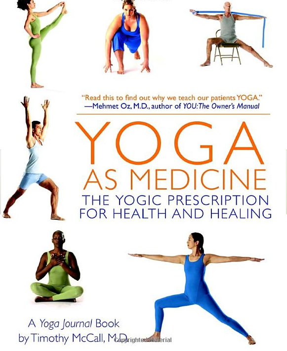 Yoga as Medicine Book