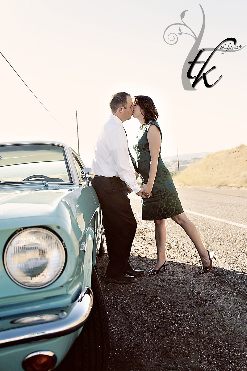 60's Engagement Session - Boise Idaho Wedding Photographer