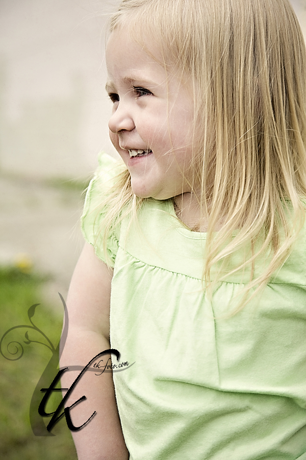 Happy Girl - Boise Idaho Children Photographer