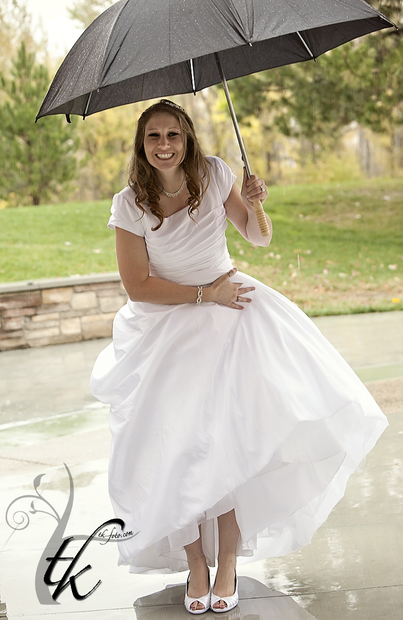 Rainy Day - Boise Idaho Wedding Photographer