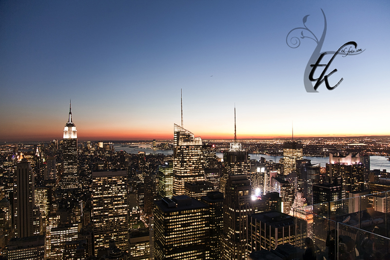 New York City Skyline at Dusk