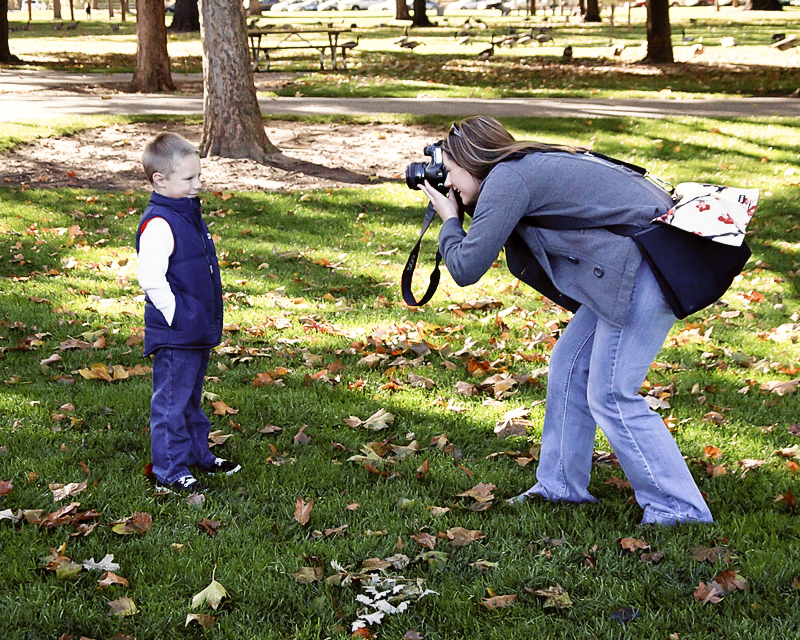 Behind the Sceenes - Boise Idaho Child Photographer