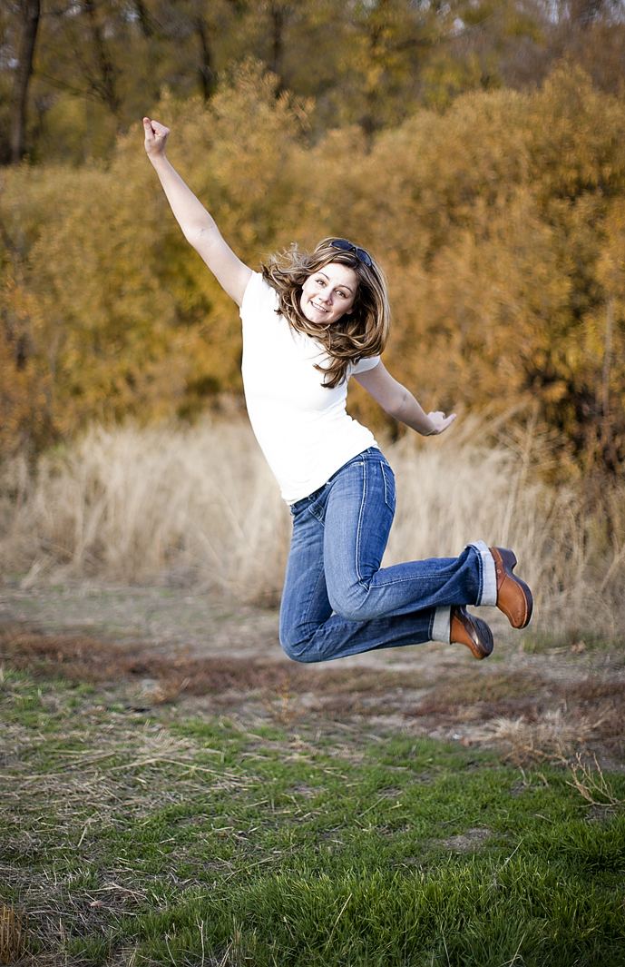 Jumping Photographer - Boise Idaho Photographer