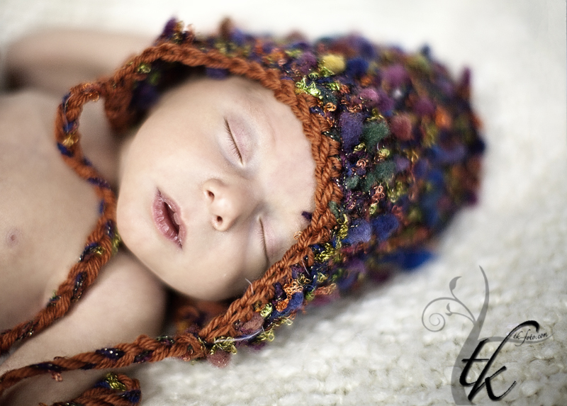 Sleeping Babe - Boise Idaho Newborn Photographer