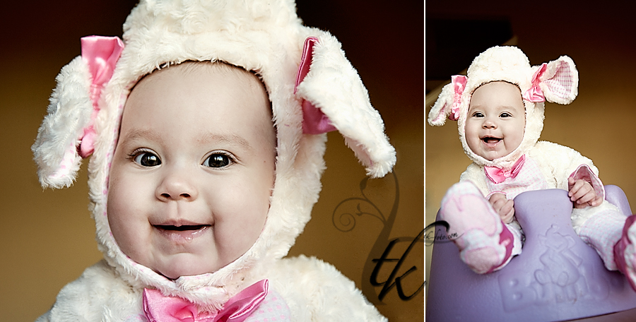 Baby Lamb Costume - Boise Idaho Child Photographer