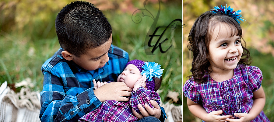 Three Kids - Boise Idaho Family and Child Photographer