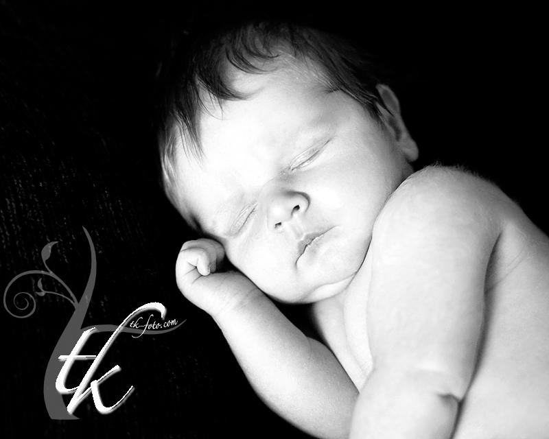 Sleeping Babe - Newborn Photographer in Boise