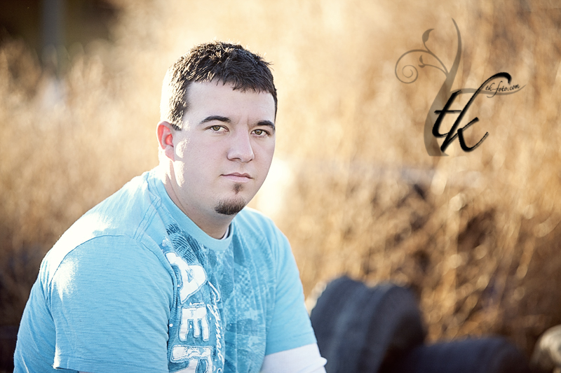 Country Sunset - Boise Idaho Senior Portrait Photographer