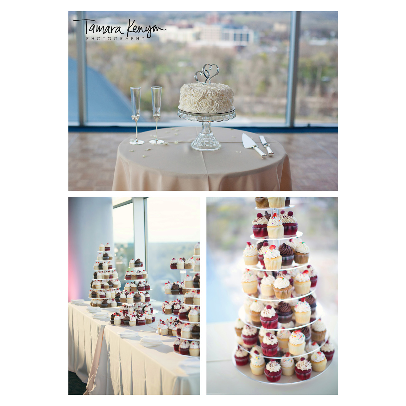 Stueckle_Sky_Center_Reception_Cake
