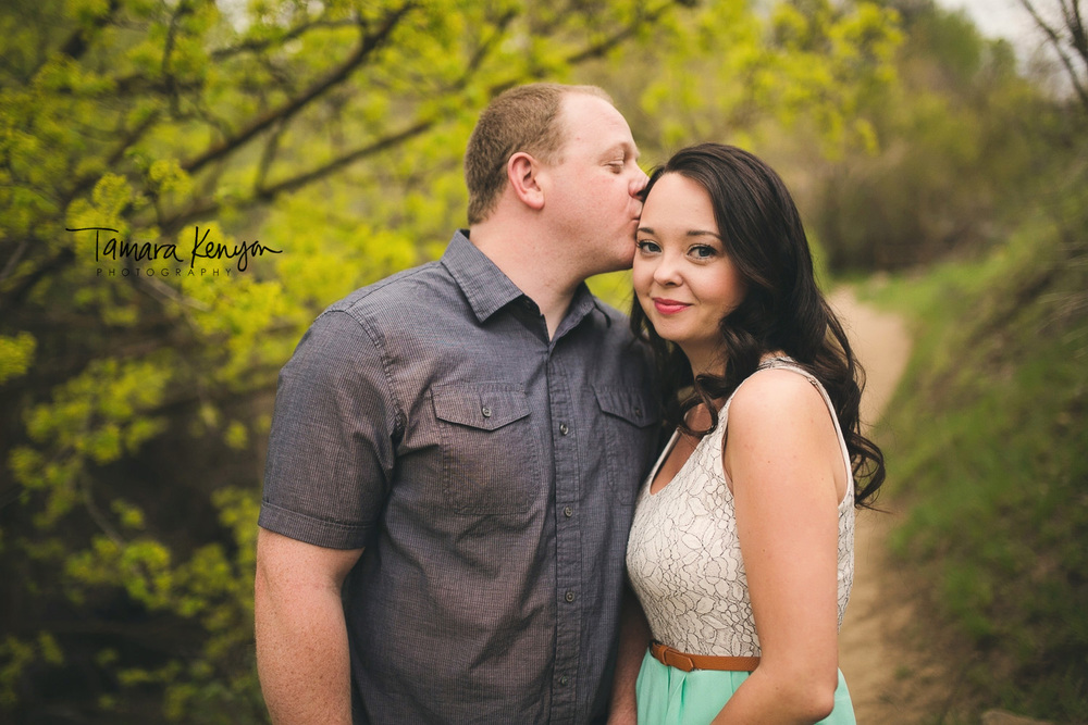 Spring Engagement Session Boise